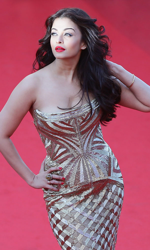 CANNES, FRANCE - MAY 20: Aishwarya Rai attends the 'Two Days, One Night' (Deux Jours, Une Nuit) premiere during the 67th Annual Cannes Film Festival on May 20, 2014 in Cannes, France. (Photo by Vittorio Zunino Celotto/Getty Images)