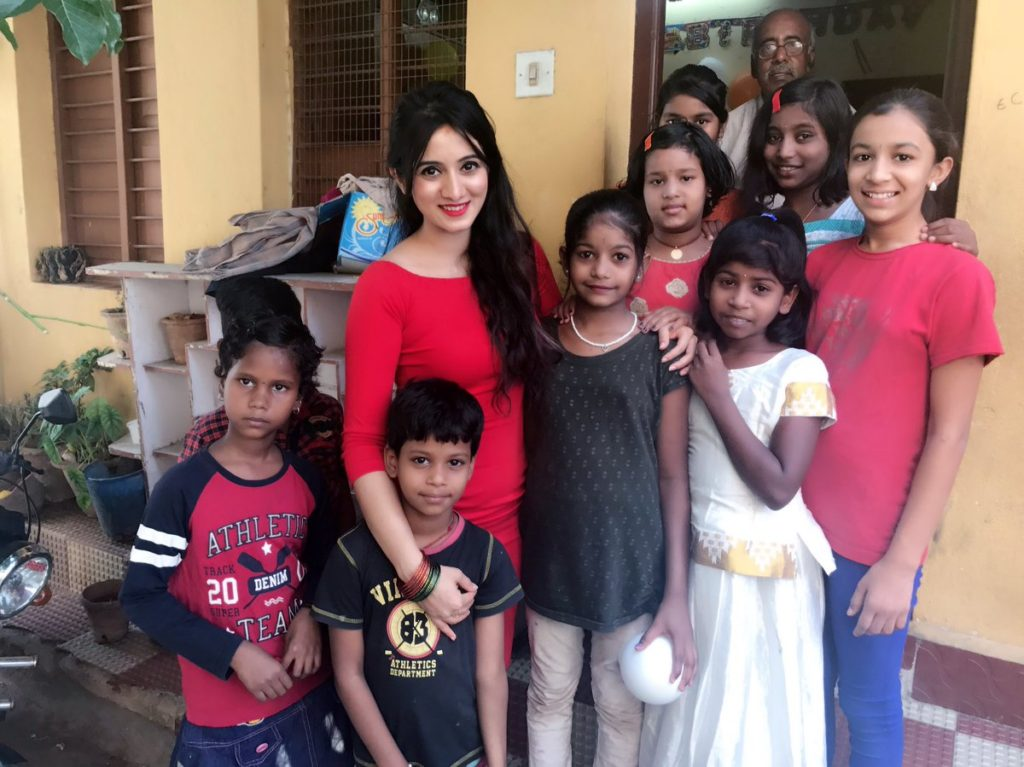 Spend a day with kids in an orphanage
