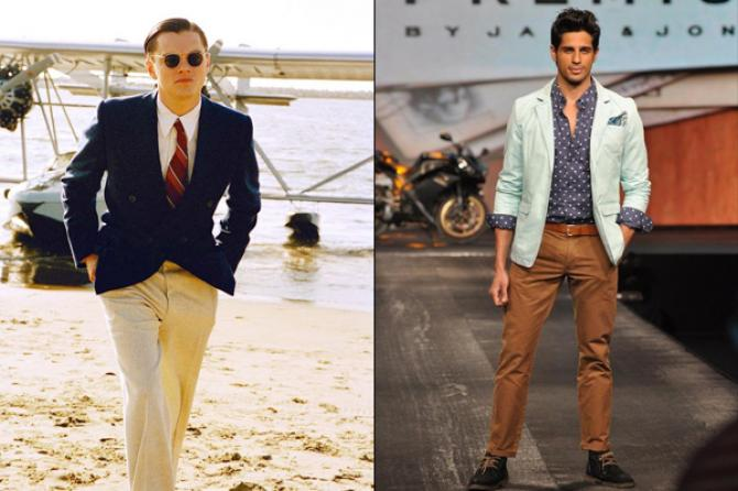 Beige trousers-Siddharth Malhotra-Wedding Outfits