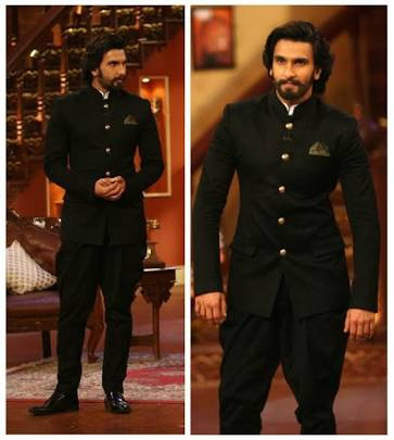 Ranveer singh-Decent Bandhgala-Wedding Outfits