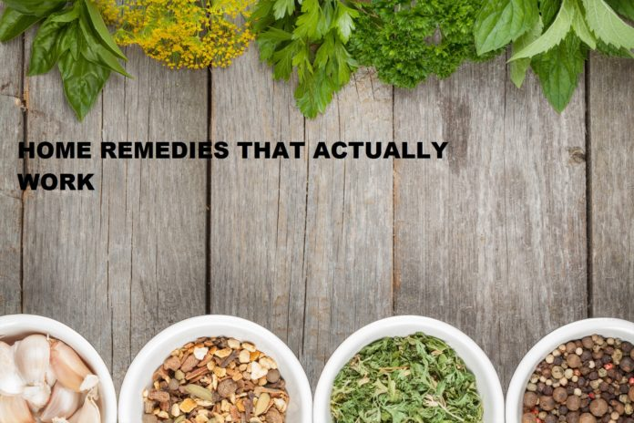 home remedies that actually work