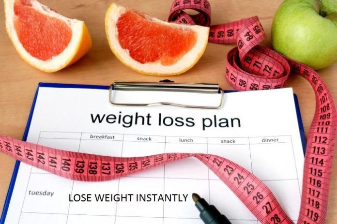 Lose Weight Instantly