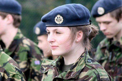 British - most Beautiful and Attractive Female Armed Force