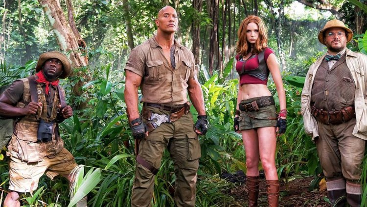 Jumanji welcome to the Jungle-Upcoming Hollywood Movies of 2017