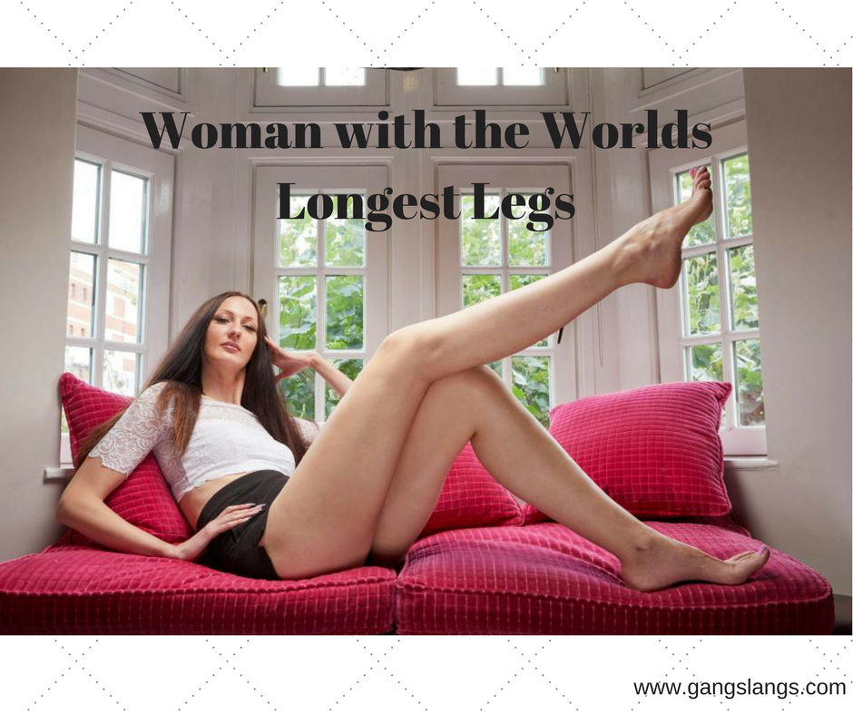 The Woman With The Worlds Longest Legs - Guinness World -1260