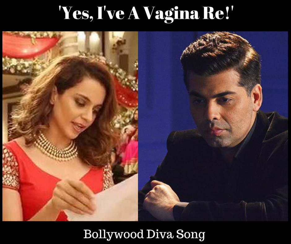 Kangana Ranaut-'Yes, I've A Vagina Re