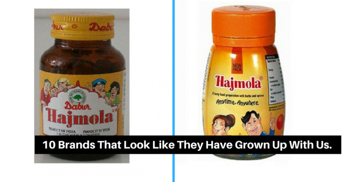 10 Brands That Look Like They Have Grown Up With Us.