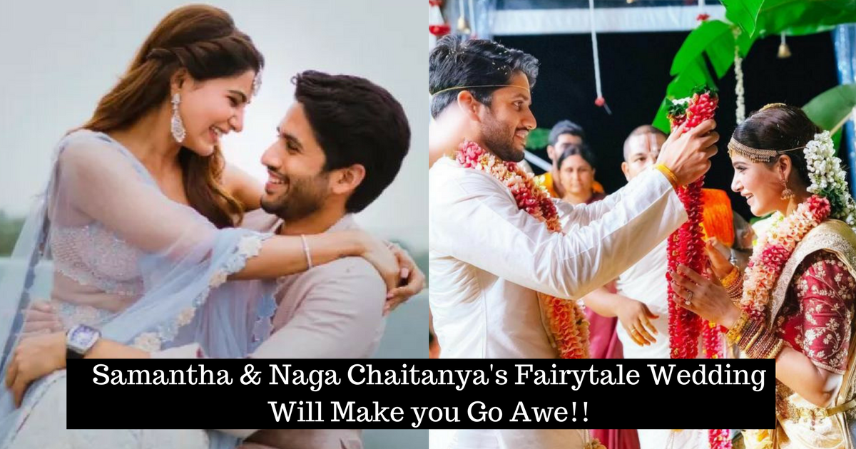 Samantha & Naga Chaitanya Fairytale Wedding
