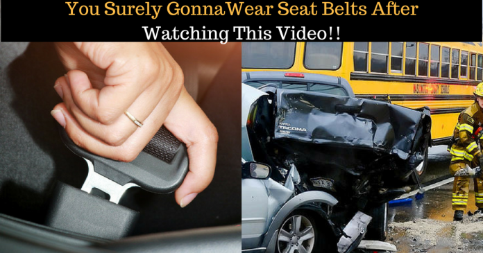 This Video Is a Reminder For All To Wear Seat Belts.