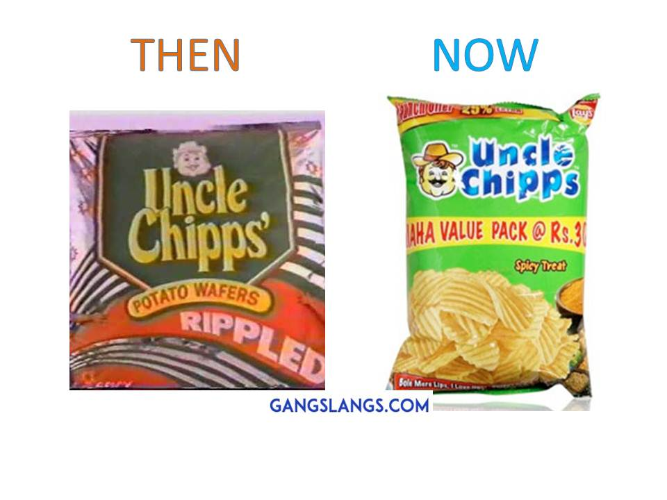 Uncle Chipps-10 Brands That Look Like They Have Grown Up With Us