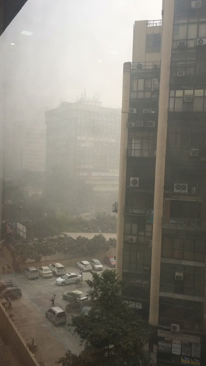 Smog is taking over the capital