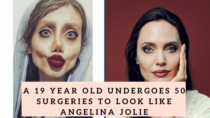 Angelina Jolie Fan Iran >> 19 year old calls her the, Biggest fan of Angelina Jolie .Gets 50 surgeries