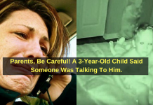 Parents, Be Careful! A 3 Year Old Child Said Someone Was Talking To Him.