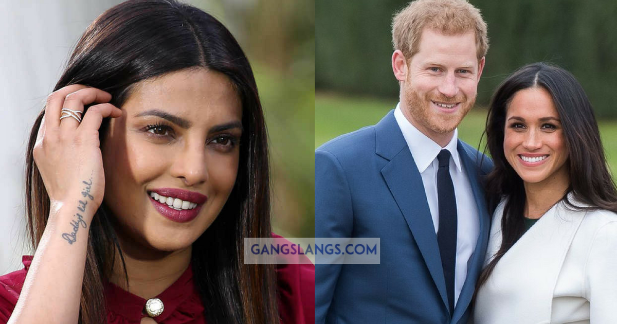 Priyanka Chopra To be A Bridesmaid At Meghan Markle Wedding