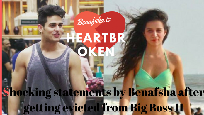 Shocking statements by Benafsha after getting evicted from Big Boss 11