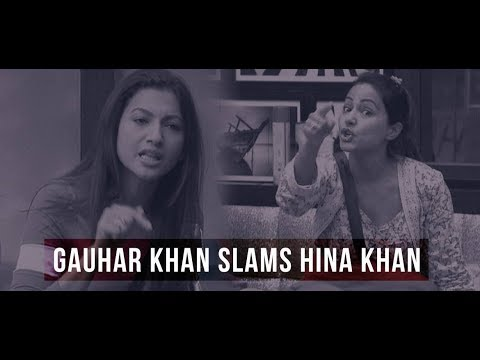 Recently she pointed out Hina Khan's 'double standard' in regard to a girl's modesty. And now Gauahar Khan supports Arshi Khan.