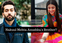 Nakuul Mehta's responded to being mistaken as Anushka Sharma's brother.