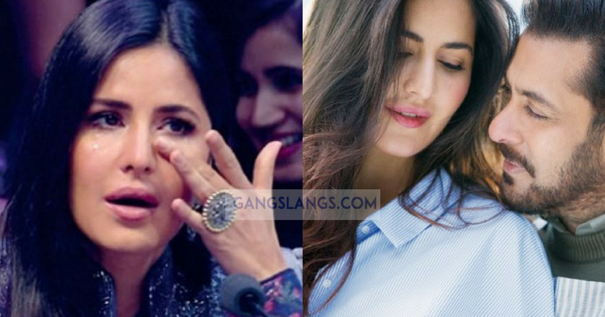 Salman Khan Wipes Off Katrina Kaif's Tears