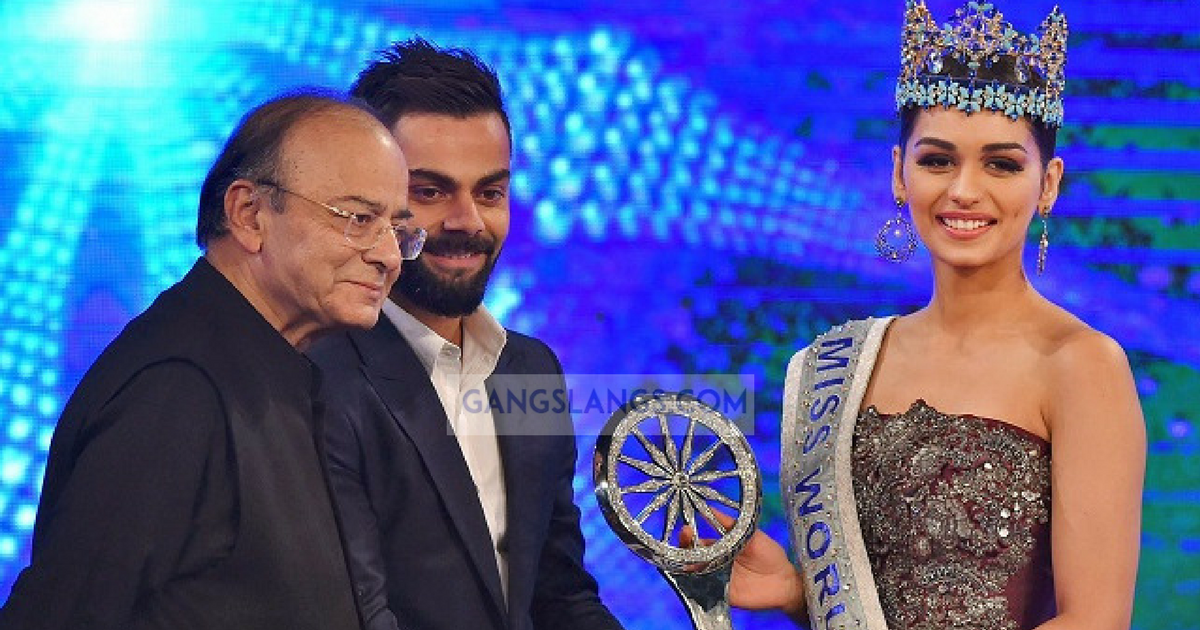 Virat Kohli reply to Manushi Chhillar's Question