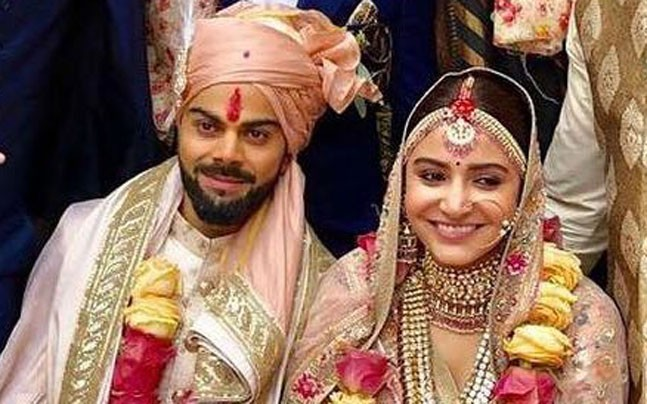Virat Kohli and Anushka Sharma Wedding Pictures