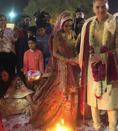 Aashka Goradia and Brent Goble's Fairy Tale Wedding