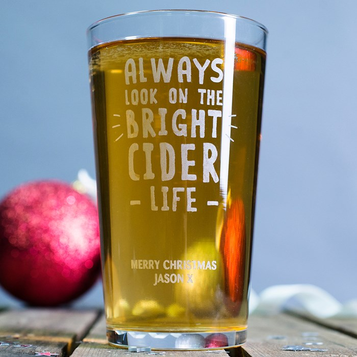 Personalized Pint Glass - Best Christmas Gifts