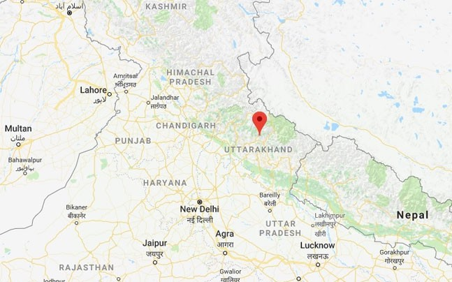 5.5 magnitude earthquake strikes in Uttarakhand