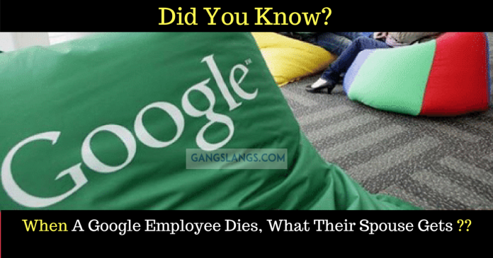 Google Employee Death Benefits