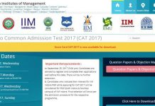 Check CAT 2017 Result on iimcat.ac.in