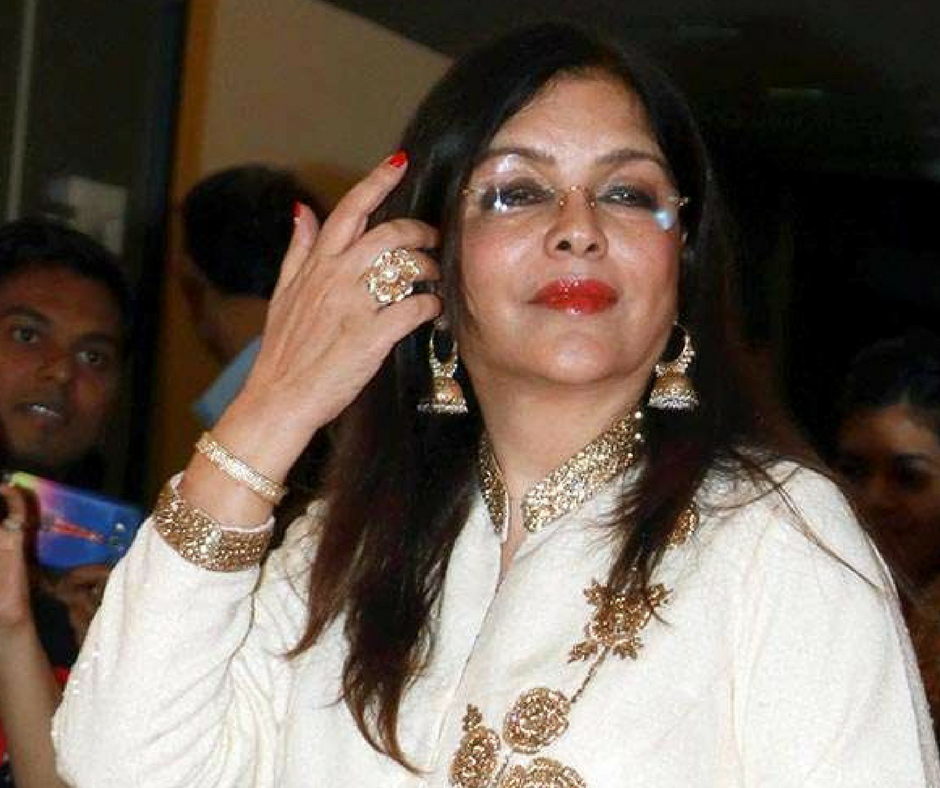 Zeenat Aman Files Complaint