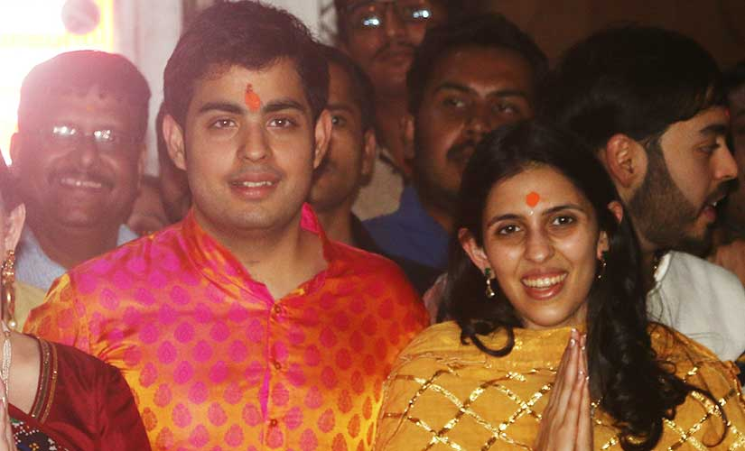 Akash Ambani Engaged To Shloka Mehta