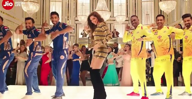 Deepika Padukone and MS Dhoni Together in The New IPL Jio Ad