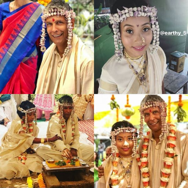 Milind Soman Finally Ties The Knot With Ankita Konwar